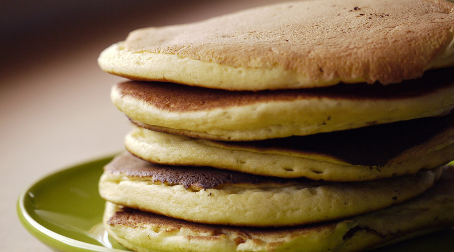 Pancakes all day, everyday.